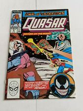 Quasar #6 January 1990 Marvel Comics VENOM