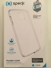 Speck Presidio Clear Series Case Cover For Motorola Moto Z2 Force