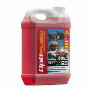 Optifuel  RTR 25% Nitro Fuel 2.5 Litres - Radio Controlled Nitro Car Fuel