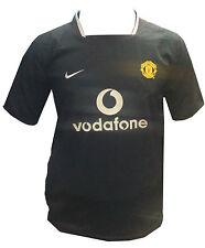 Manchester United 2003-2005 Original Nike Football Shirt Boys Kids T-Shirt