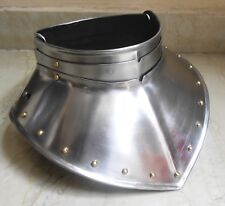 Gorget Medieval Steel Set Iron Plate Armour Larp Gothic Knight Role Play Armor