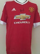 Marcus Rashford Hand Signed Manchester United Shirt 15/16 Man Utd.