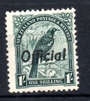 New Zealand 1942 1/- Official SG0131 mint LHM WS10914