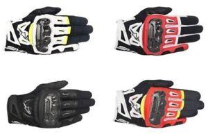 Alpinestars Moto SMX-2 Carbono Aire v2 Guantes de Cuero