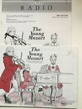 THE YOUNG MOZART, Time and Tune Summer, BBC RADIO FOR SCHOOLS 2 Books