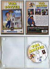 Vintage 1980 - DVD vidéo ''TOM SAWYER'' Volume 1 : épisodes 1 à 4