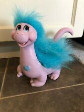 RARE Vintage Snugglebumms Tuggles The Dinosaur Blue Action Figure 1985