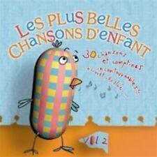 LES PLUS BELLES CHANSONS D'ENFANT Volume 2 [CD] - NEUF