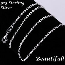 "DOG PAW HEART CRYSTAL  pendant 20"" Sterling Silver 925 necklace chain female"
