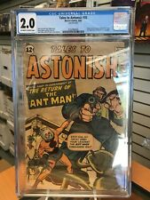 CGC 2.0 Tales To Astonish 35 2nd Ant Man 1st In Costume