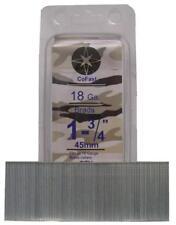 CoFast 18 Ga 1-3/4 inch Straight Finish Brad Air Nails fit Most 18 Ga Nailers 2M