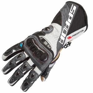 Spada Predator 2 Leather Sports Motorcycle Motorbike Sports Gloves - XL