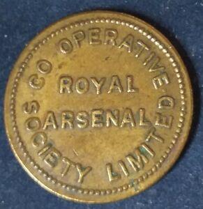 ROYAL ARSENAL CO-OP SOC £1 TOKEN