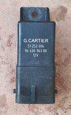 Citroen Peugeot Diesel 8-Pin Glow Plugs Relay 9663696380 G. Cartier 51252004