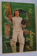 Cricket Collectable - Futera Elite Card - Century Makers Series - Michael Slater
