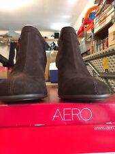 Dark Brown Suede Aerosoles Bootie Size 10M