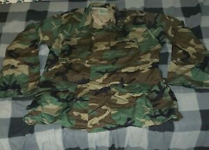 Woodland Bdu Shirt Large Long