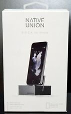 NEW Native Union SLATE Apple Lightning Charging DOCK iPad 4 Air 2 Mini 3 iPod 5