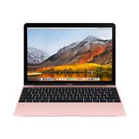 "Apple Macbook Core M3 1.2GHz 8GB RAM 256GB SSD 12"" Rose Gold MNYM2LL/A (2017)"
