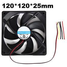 Neu 120mm 4 Polig PC Gehäuse Computer Gehäuse IDE Lüfter Kühler Still Cool 12V