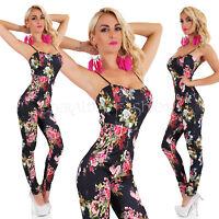 dffca7873c2ddd Sexy Sommer Multicolor Overall Einteiler Jumpsuit Catsuit Hosenanzug ...