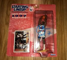 Charles Barkley Signed Auto Starting Lineup Action Figure Photo PROOF Rockets