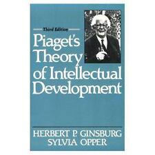 Piaget's Theory of Intellectual Development (3rd Edition), Herbert P. Ginsburg,