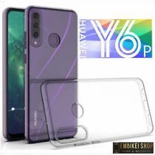 Custodia Huawei Y6P Cover  Antiurto Silicone Morbido Trasparente Slim Guscio