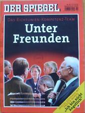 SPIEGEL 42/2005 Die Regierungsbildung von Angela Merkel