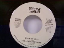 "LEROI BROTHERS ""CHAIN OF LOVE / SAME"" 45 MINT PROMO"