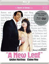 A NEW LEAF (Walter Matthau) - DVD + BLU RAY - REGION 2 UK