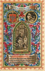 Papa Benedetto VIII ovvero Teofilatto II dei Conti di Tuscolo (Roma, 980 - 1024)