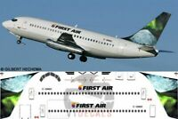 V1 Decals Boeing 737-200 First Air for 1/144 Airfix Model Airplane Kit V1D0004