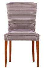 DUE Coprisedie Vestisedie Coprisedia per 2 sedie Harmony Stripe grigio
