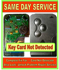 "Renault Scenic & Megane Key Card Repairs "" Card Not Detected "" Over 1000 SOLD !!"