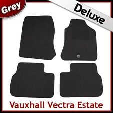 VAUXHALL VECTRA B Estate 1995-2002 Tailored LUXURY 1300g Carpet Car Mats GREY