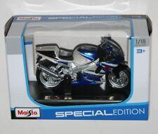 Maisto - SUZUKI GSX-R750 (Blue) - Motorbike Model Scale 1:18