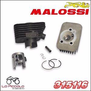 MALOSSI 315116 ELABORAZIONE GRUPPO TERMICO 65cc Ø 43 SPINOTTO 10 PIAGGIO CIAO 50
