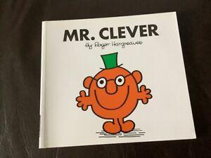 MR CLEVER Mr Men Series Roger Hargreaves book no. 37