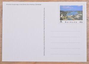 MayfairStamps Bermuda Drawbridge Ely's Harbor Somerset Bridge Mint Stationery Ca