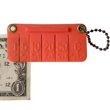 Pocket Money Brailler for Blind - Mark Bills in Braille