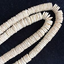 Ostrich Egg Shell Beads, 10 per pack