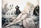 Perfect Harmony by Louis Icart (Art Print of Vintage Art)