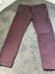 MENS RED HERRING SLIM FIT  MAUVE JEANS size 36S