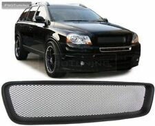 FOR VOLVO XC90 2002 2010 FRONT SPORT BLACK ABS BADGELESS GRILL NO EMBLEM