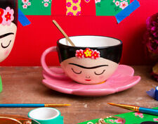 Sass & Belle Frida Cup and Flower Saucer Set - Brand New & Boxed