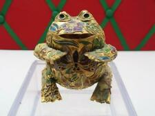 New ListingVery Beautiful Cloisonne Frog/Toad Beautifly Mastered