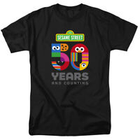 Sesame Street 50th Anniversary Logo Officially Licensed Adult T-Shirt