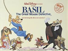 """Basil the great mouse detective 16"""" x 12"""" Reproduction Movie Poster Photograph"""