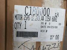 Jacuzzi Part#: C180000 ; MOTOR 2SPD 12.2/3..4A 115V 60HZ